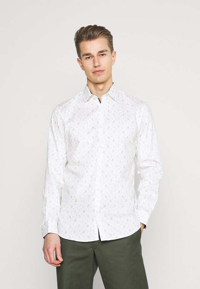 SLHSLIMNEW MARK - Košile - star white