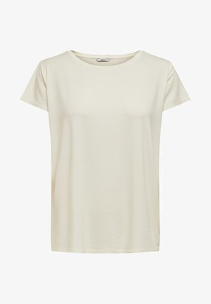 ONLGRACE  - T-shirt basic - cloud dancer