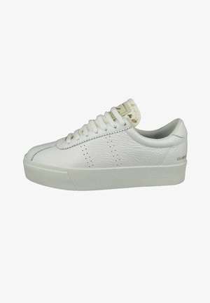 Trainers - white gold