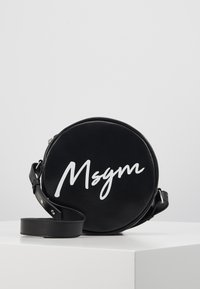 MSGM - Taška spříčným popruhem - black - 0