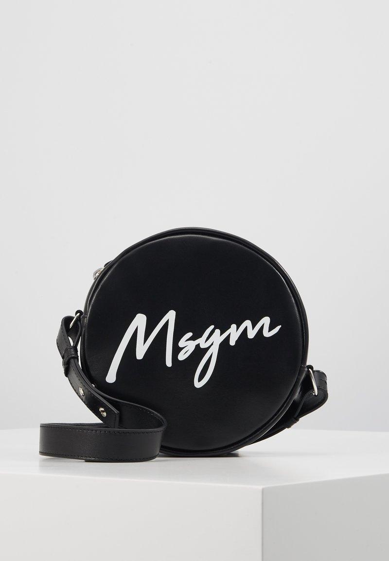 MSGM - Taška spříčným popruhem - black