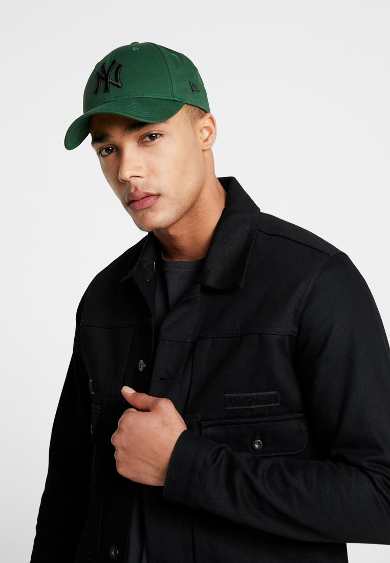 New Era League Essential 9forty - Cap Dark Green/grün