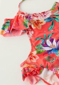 Calzedonia - LISBONA - Swimsuit - flowers glossy red - 1