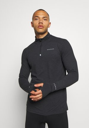 ABBAS MIDLAYER - Sports shirt - black