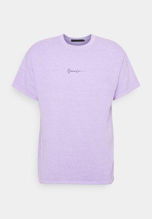 NEW PARADISE REGULAR - T-shirts print - purple