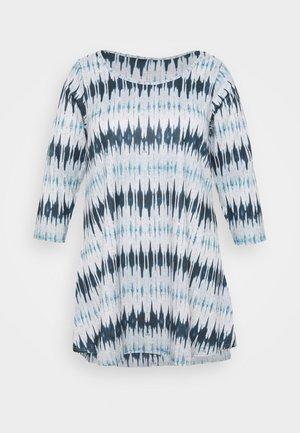 GEO PRINT PINTUCK - Long sleeved top - multi