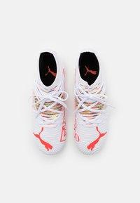 Puma - FUTURE Z 3.1 FG/AG JR UNISEX - Moulded stud football boots - white/red blast - 3