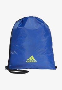 adidas Performance - Drawstring sports bag - blue - 0