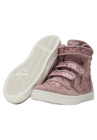 Hummel - STADIL GLITTER - High-top trainers - deauville mauve - 5