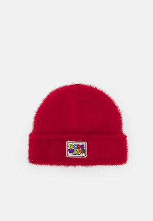 FLUFFY HAT UNISEX - Čepice - red