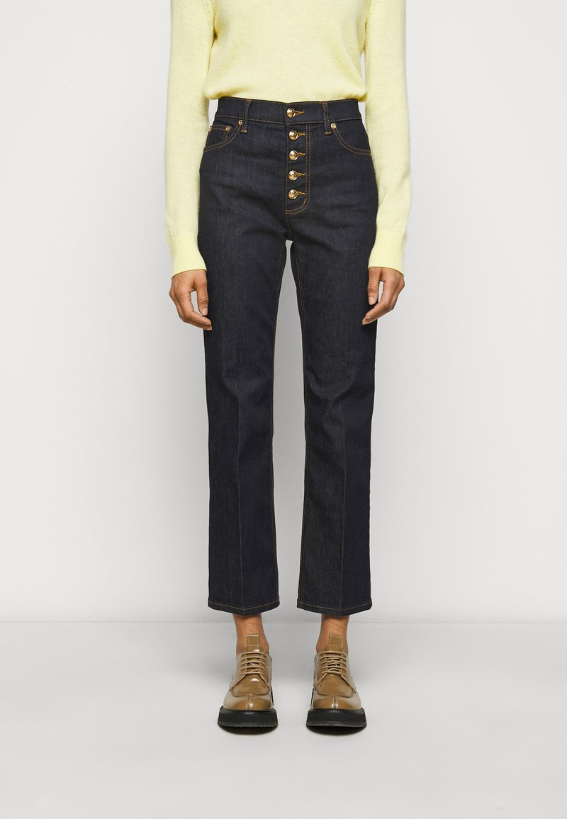 Tory Burch - Straight leg jeans - resin rinse