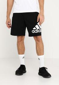 adidas Performance - KRAFT AEROREADY CLIMALITE SPORT SHORTS - Sportovní kraťasy - black - 0