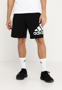 adidas Performance - KRAFT AEROREADY CLIMALITE SPORT SHORTS - Krótkie spodenki sportowe - black - 0