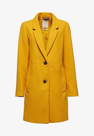 Classic coat - brass yellow
