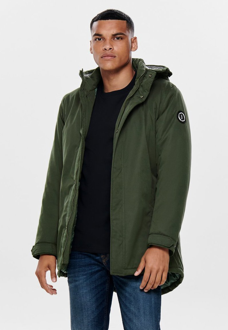 Only & Sons - ONSETHAN  - Parka - olive