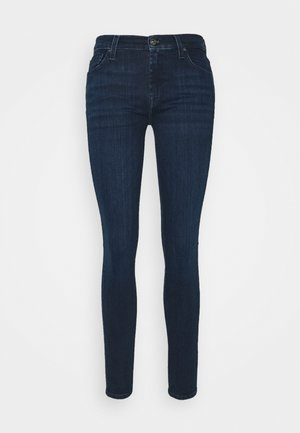 ILLUSION CODE - Jeans Skinny Fit - dark blue