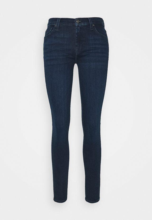 ILLUSION CODE - Jeansy Skinny Fit - dark blue