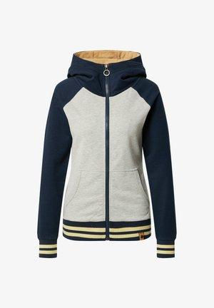 WE GOT TOO FAR - Zip-up sweatshirt - dunkelblau