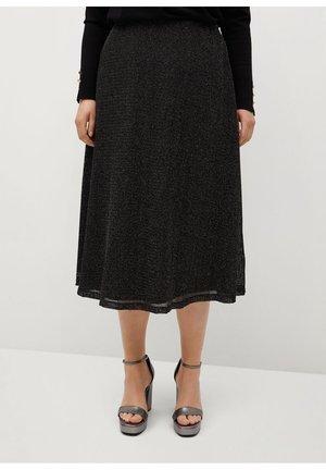 TULI - A-line skirt - cuivre