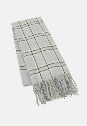 Halsduk - grey/off-white/mint