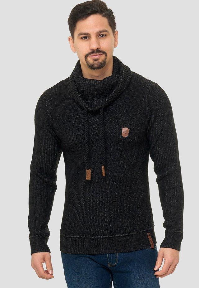 KESHAWN - Sweter - schwarz
