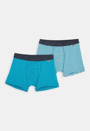 KIDS SHORTS 2 PACK - Pants - petrol