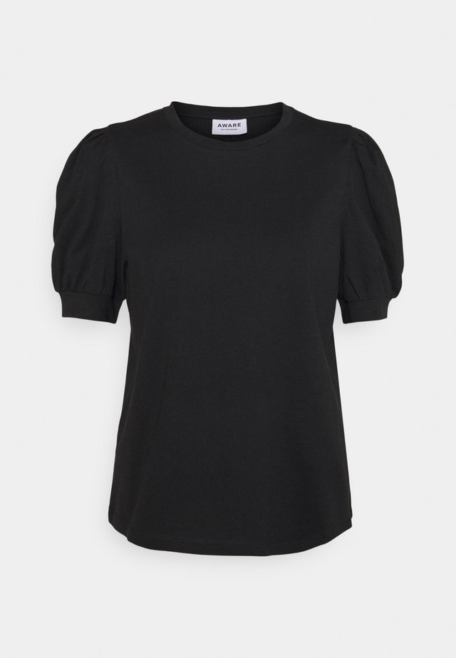 VMKERRY O NECK  - T-shirts med print - black