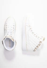 Guess - BRODEE - Sneaker high - white/gold - 3