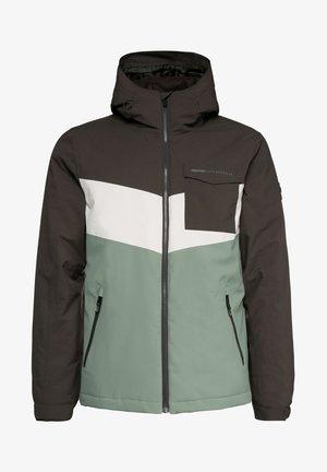 LARRY  - Snowboard jacket - green spray