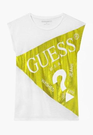 JUNIOR - Print T-shirt - shiny light green