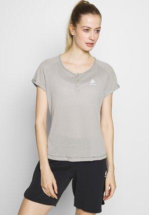 CREW NECK ELEMENT - Print T-shirt - grey melange