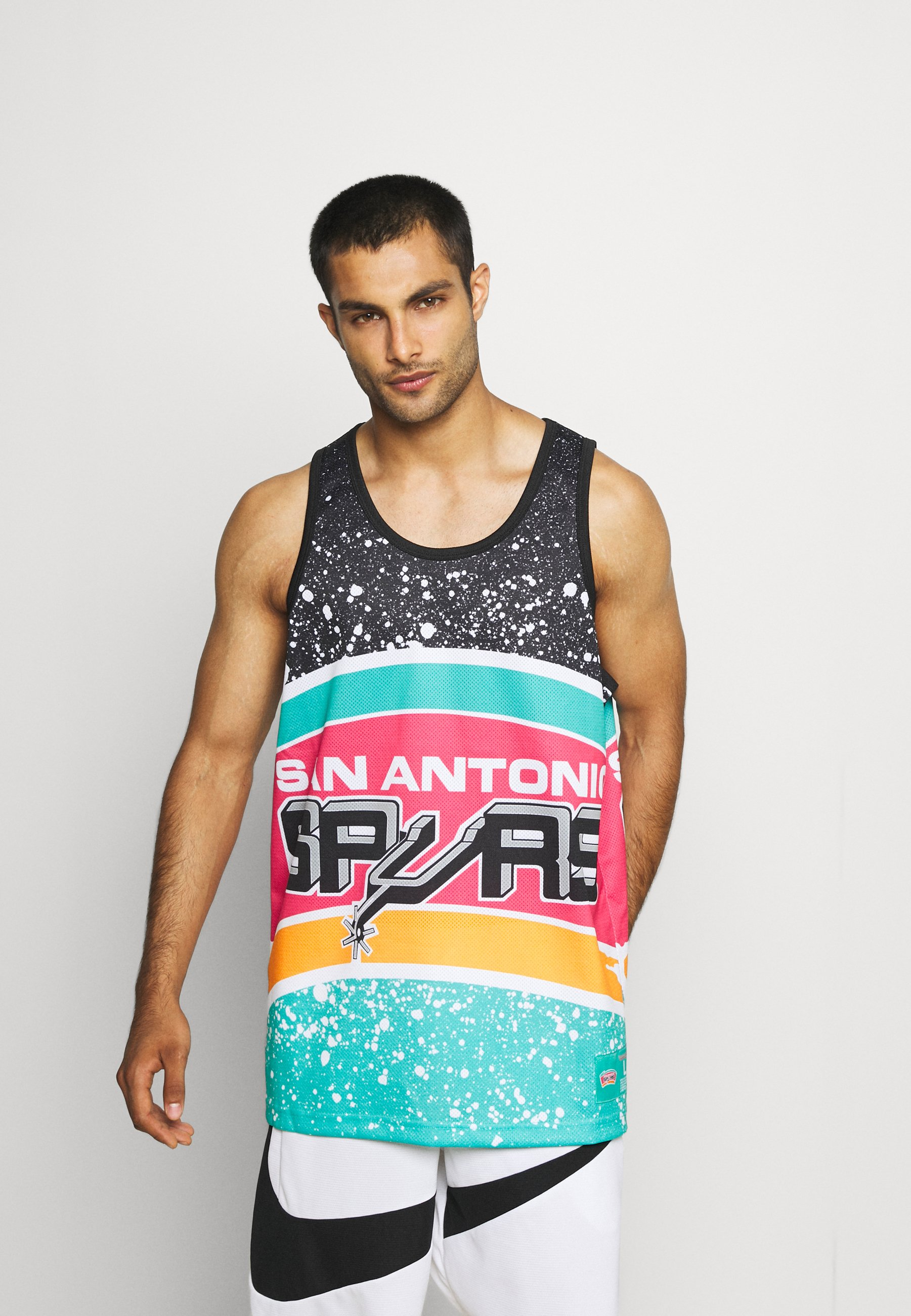 Men NBA SAN ANTONIO SPURS JUMBOTRON SUBLIMATED TANK - NBA jersey