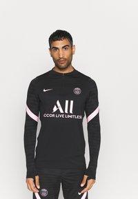 Nike Performance - PARIS ST. GERMAIN  - Long sleeved top - black/arctic punch - 0