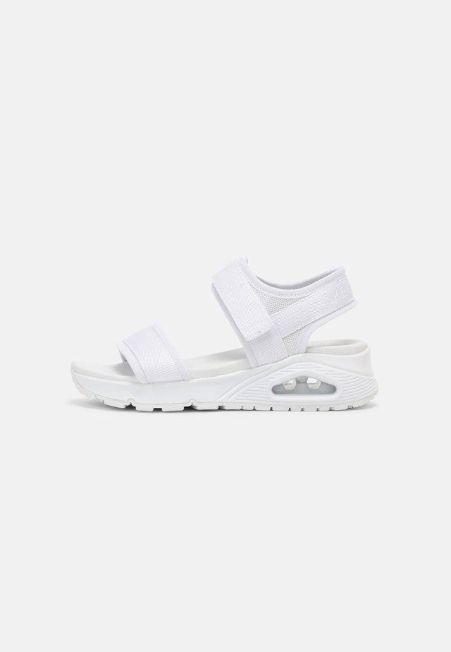 UNO - Sandały - white