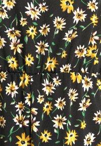 JDY - JDYALINA STRAP - Jumpsuit - black/yellow - 5