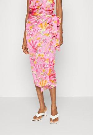 SUMMER RAINBOW  - Wrap skirt - pink