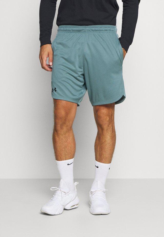 TRAINING SHORTS - Pantaloncini sportivi - lichen blue