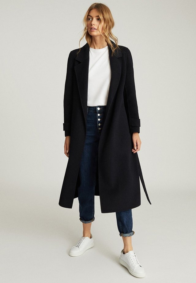 LEAH - Trenchcoat - navy blue