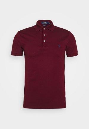 SLIM FIT MODEL - Polo shirt - classic wine