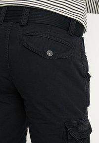 Schott - BATTLE - Shorts - black - 5