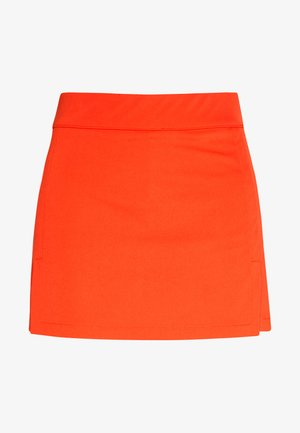 Sports skirt - tomato red