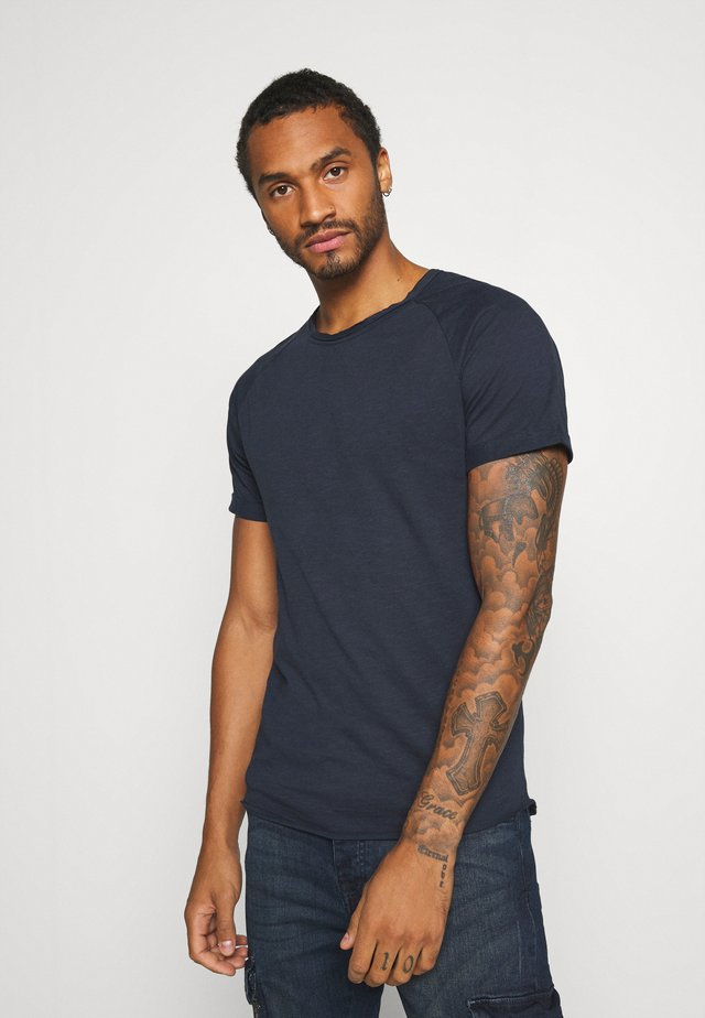 KAS TEE - T-shirt basic - navy