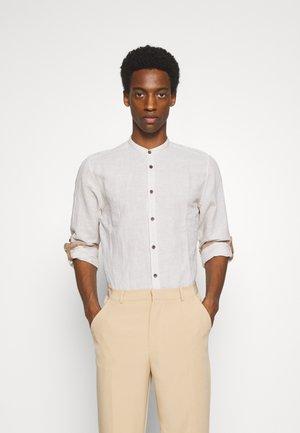 MAO STRIPE - Camicia - beige