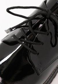 Marco Tozzi - LACE UP - Lace-ups - black - 6