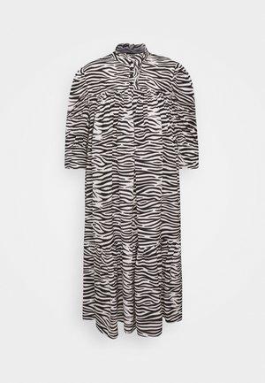 LIVA DRESS - Košilové šaty - black