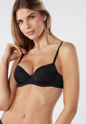 SOFIA - Balconette bra - black