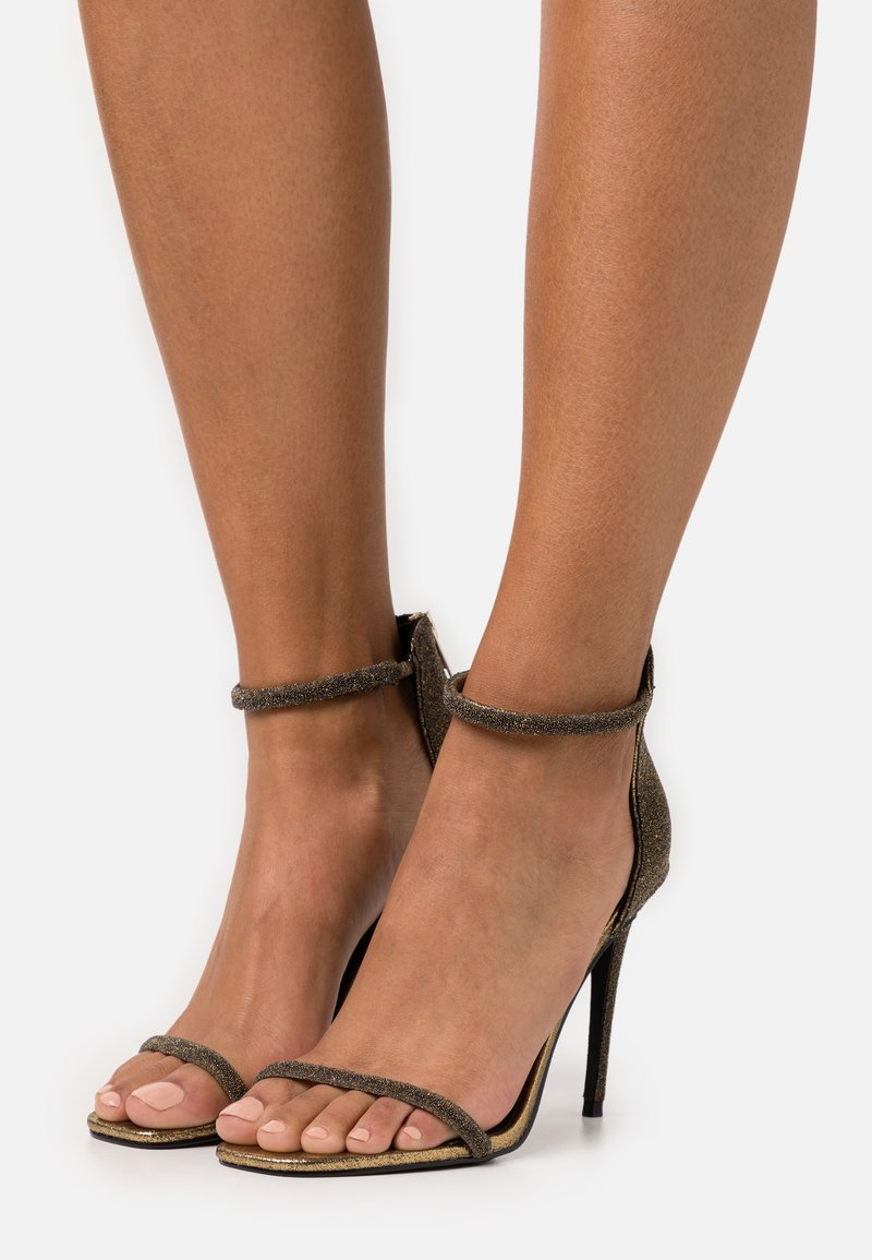 Steve Madden - RAPTURE - High heeled sandals - gold