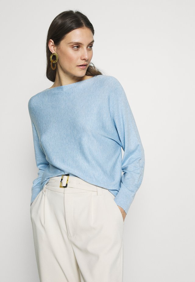 ANNEMARIE BATWING JUMPER - Pullover - blue