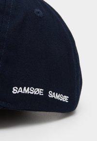 Samsøe Samsøe - ARIBO UNISEX - Kšiltovka - night sky - 3
