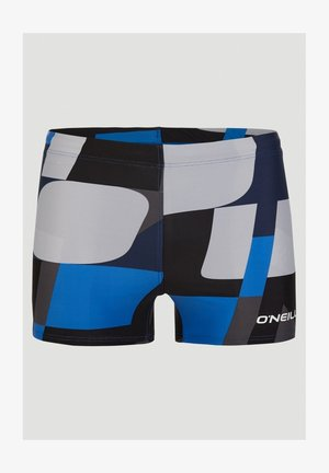 Swimming trunks - blue with blue